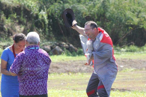 Samoa 2019, Laurent Clerté, archer au dernier jour