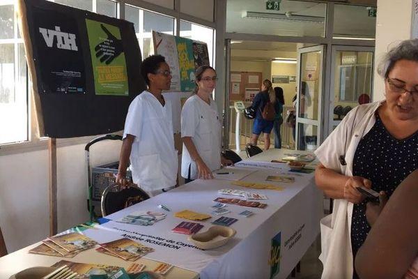 Action de dépistage pour le VIH