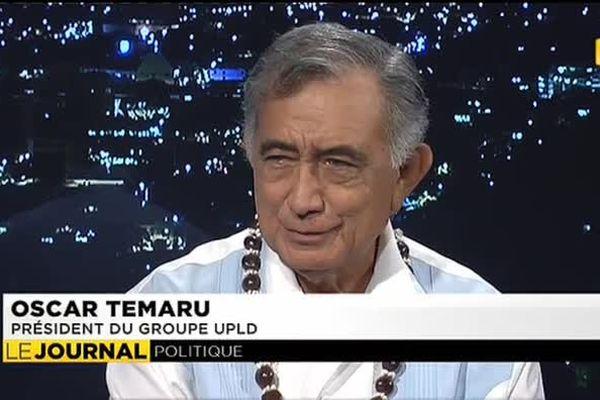 L'Etat reprend d'une main ce qu'il donne de l'autre estime Oscar Temaru