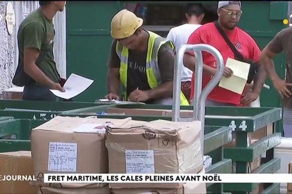 Frêt maritime : les cales pleines avant Noël