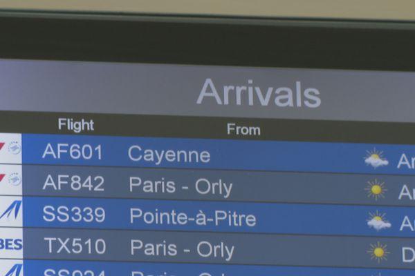 Panneaux aéroport