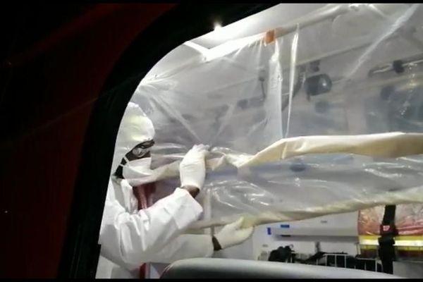 Coronavirus : les sapeurs-pompiers de Martinique au front pour sauver des vies NE PAS UTILISER EN DEHORS ARTICLE BB