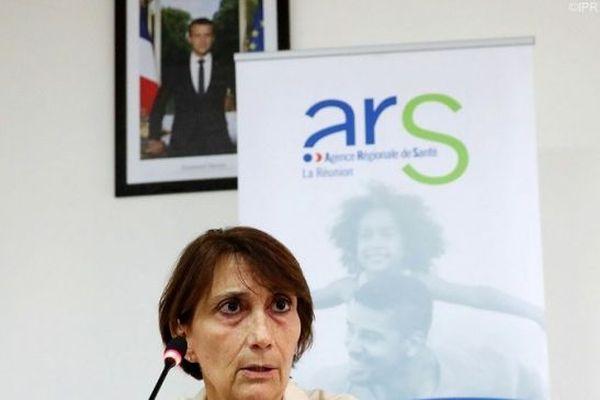 Martine Ladoucette, directrice générale de l'Agence Régionale de Santé à La Réunion.