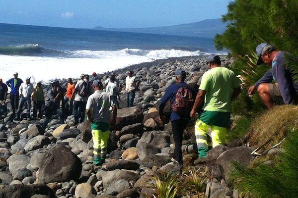 MH370 : recherches front de mer St-André