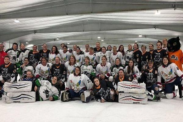 Les Harfangs motivées pour affronter les hockeyeuses de Terre-Neuve