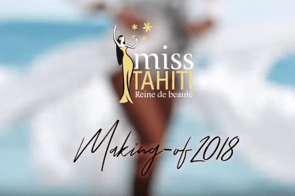 Making of Miss Tahiti 2018