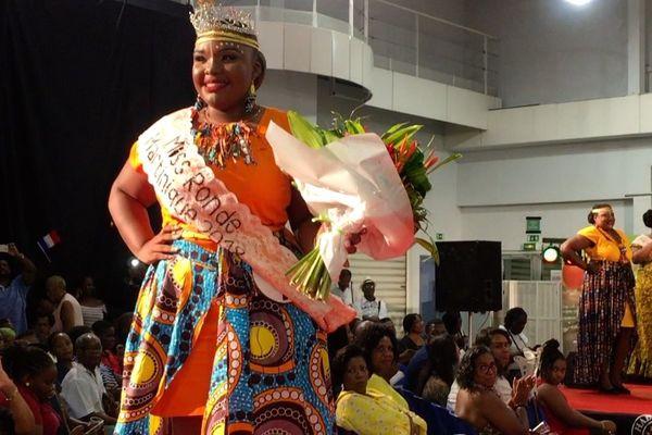 Priscilla Egarnès Miss ronde 2018 Martinique