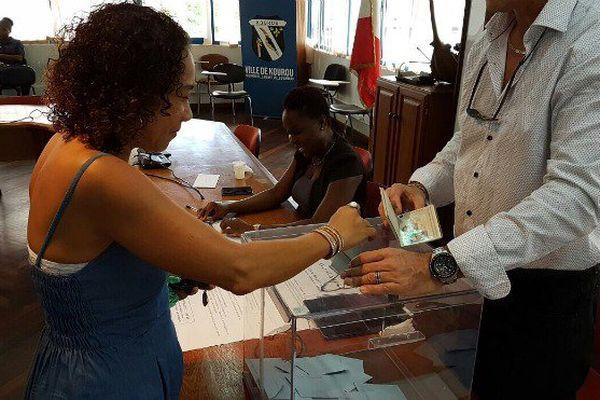 Deuxième tour des élections législatives en Guyane