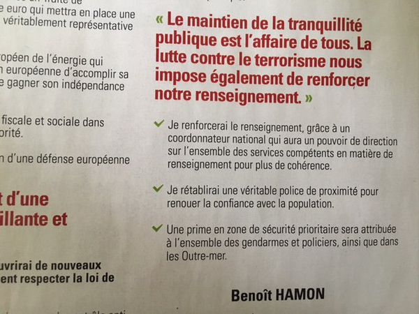 Hamon tract