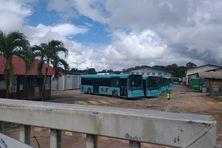 Les bus de la Semop bloqués au dépôt