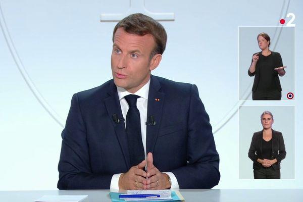 Macron 14 octobre
