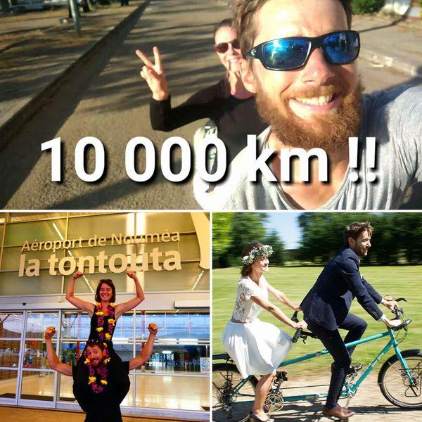 Avec son épouse, Victor a parcouru la moitié du monde à vélo