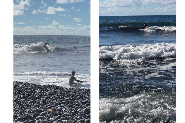 surf à la baie