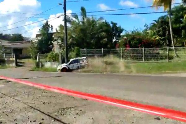 Accident de rallye