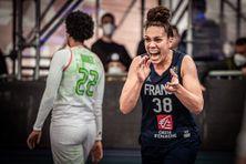 La basketteuse calédonienne Soana Lucet, lors du Tournoi de qualification olympique à Graz (Autriche), en juin 2021.