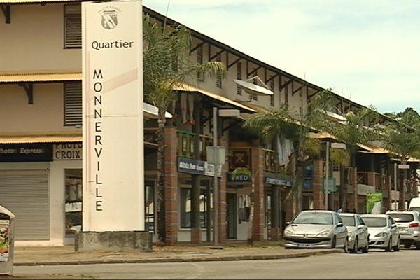 Quartier Monnerville à Kourou