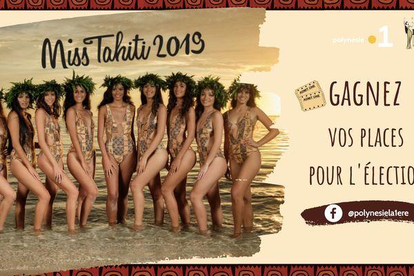 Gagnez vos places pour la soirée d'élection Miss Tahiti !