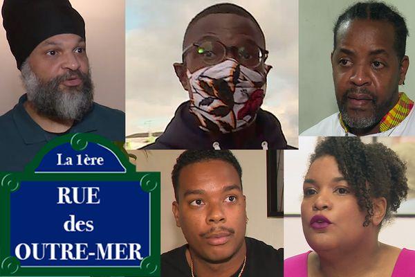 Portraits de Martiniquais Rue des Outre-mer