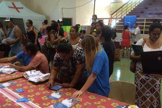 7ème forum de l'emploi à Arue, jeudi 15 octobre 2015