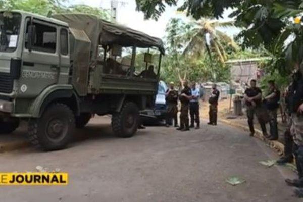 Des gendarmes à Mgnambani