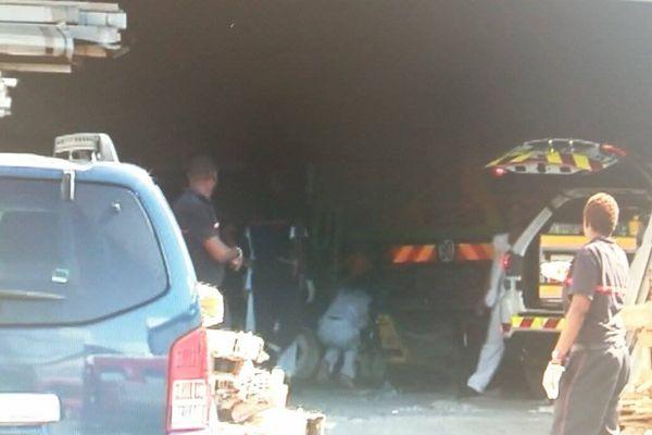 accident mortel du travail à Jarry