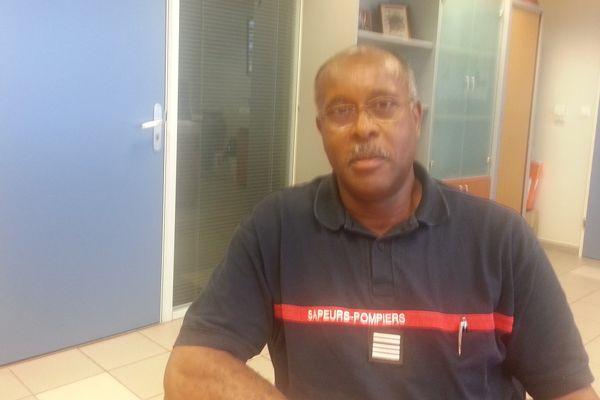 Le colonel Gilles Bazir, directeur du SDIS, le service départemental incendie et secours