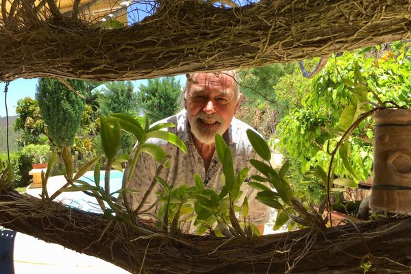 Bob Stirrup, orchidophiliste.