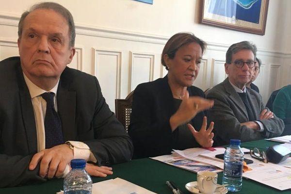 Alain Chrisnacht la sénatrice Lana Tetuanui