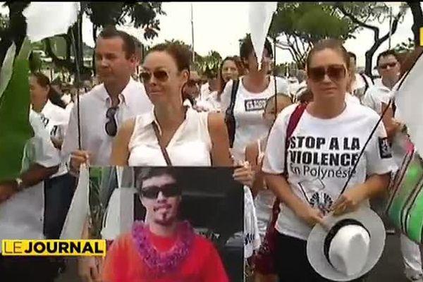 Marche blanche: plusieurs milliers de personnes dans la rue pour dire stop à la violence