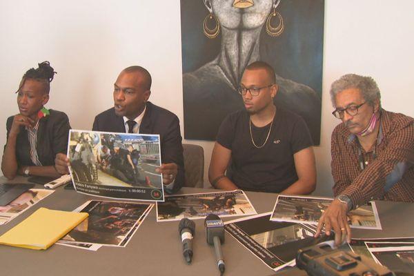Keziah Nuissier et ses avocats