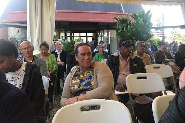Séminaire au Sénat coutumier sur le foncier en Calédonie