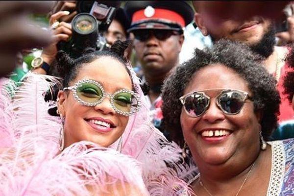 Rihanna Mottley et Rihanna
