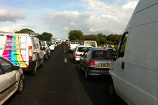 Transport circulation embouteillage