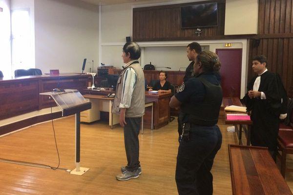 ressortissant chinois arrêté à l'ile des Pins. Tribunal