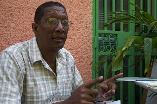 Le sismologue haïtien Claude Prépetit