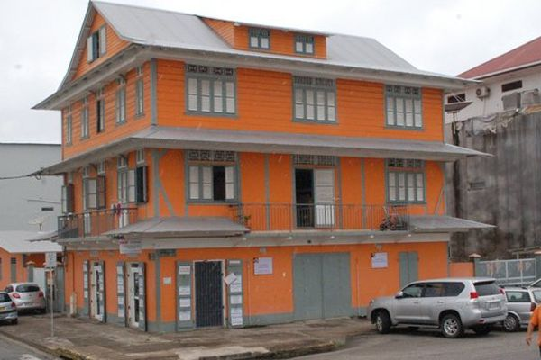 Maison créole de Cayenne