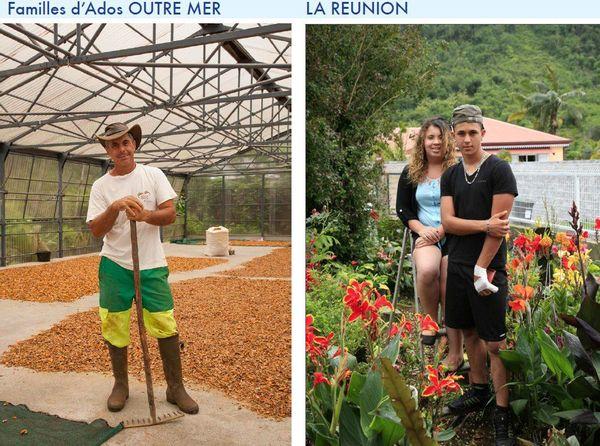 Famille d'ados à la Réunion