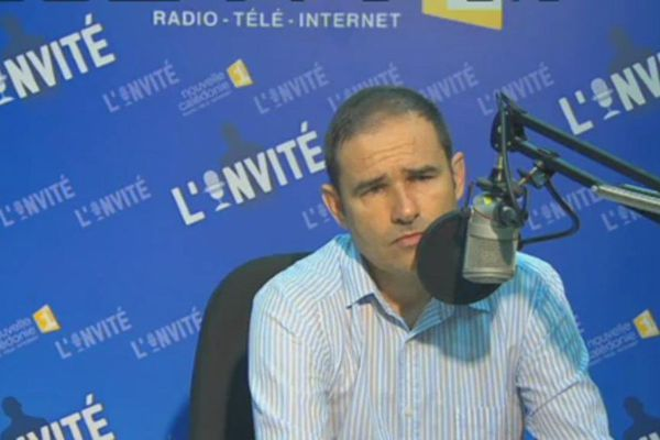 L'invité politique du dimanche soir sur NC1ère: Pascal Vittori
