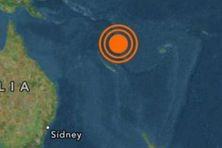 Alerte au tsunuami au Vanuatu, jeudi 28 avril 2016