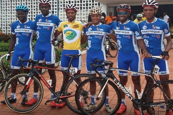 Cyclisme : la sélection de Martinique au tour 971