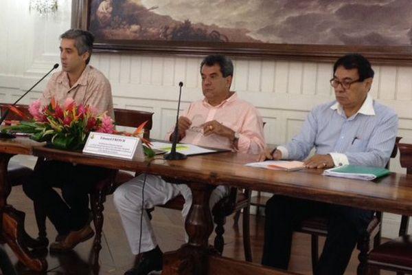 Conférence de presse sur la venue des leaders polynésiens du Pacifique. 09 07 2015
