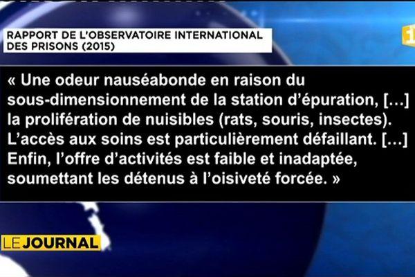 Nuutania : prison indigne de la République
