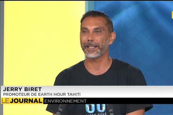 INVITE : Jerry Biret – Promoteur de l'événement Earth Hour en Polynésie