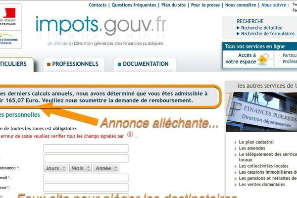 phishing gendarmerie
