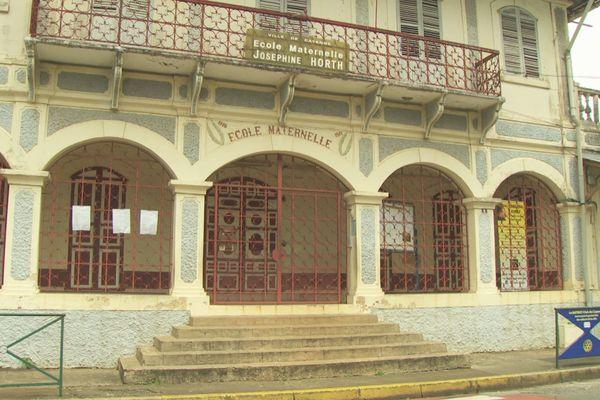Cayenne : travaux de réhabilitation des écoles