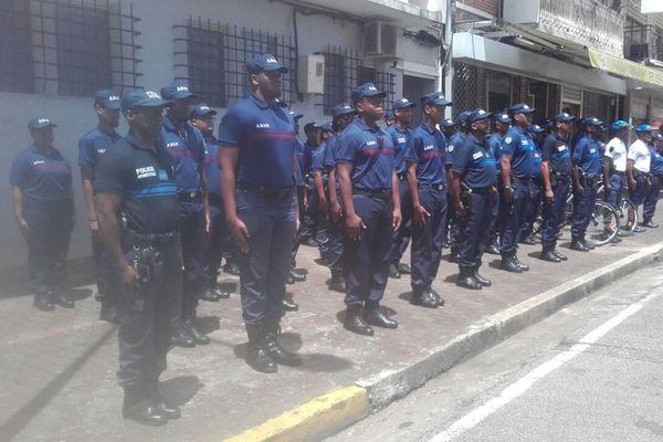 Présentation des forces de police municipale