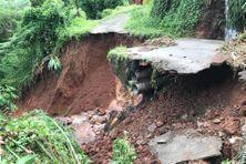 la ville du Gros-Morne très touchée par les pluies diluviennes