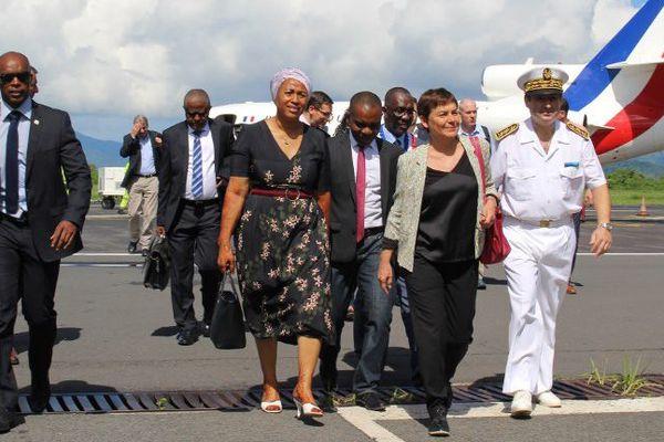 Annick Girardin à Mayotte