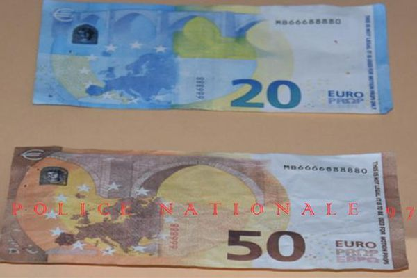Faux billets en circulation