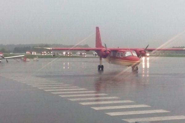 Avions au sol